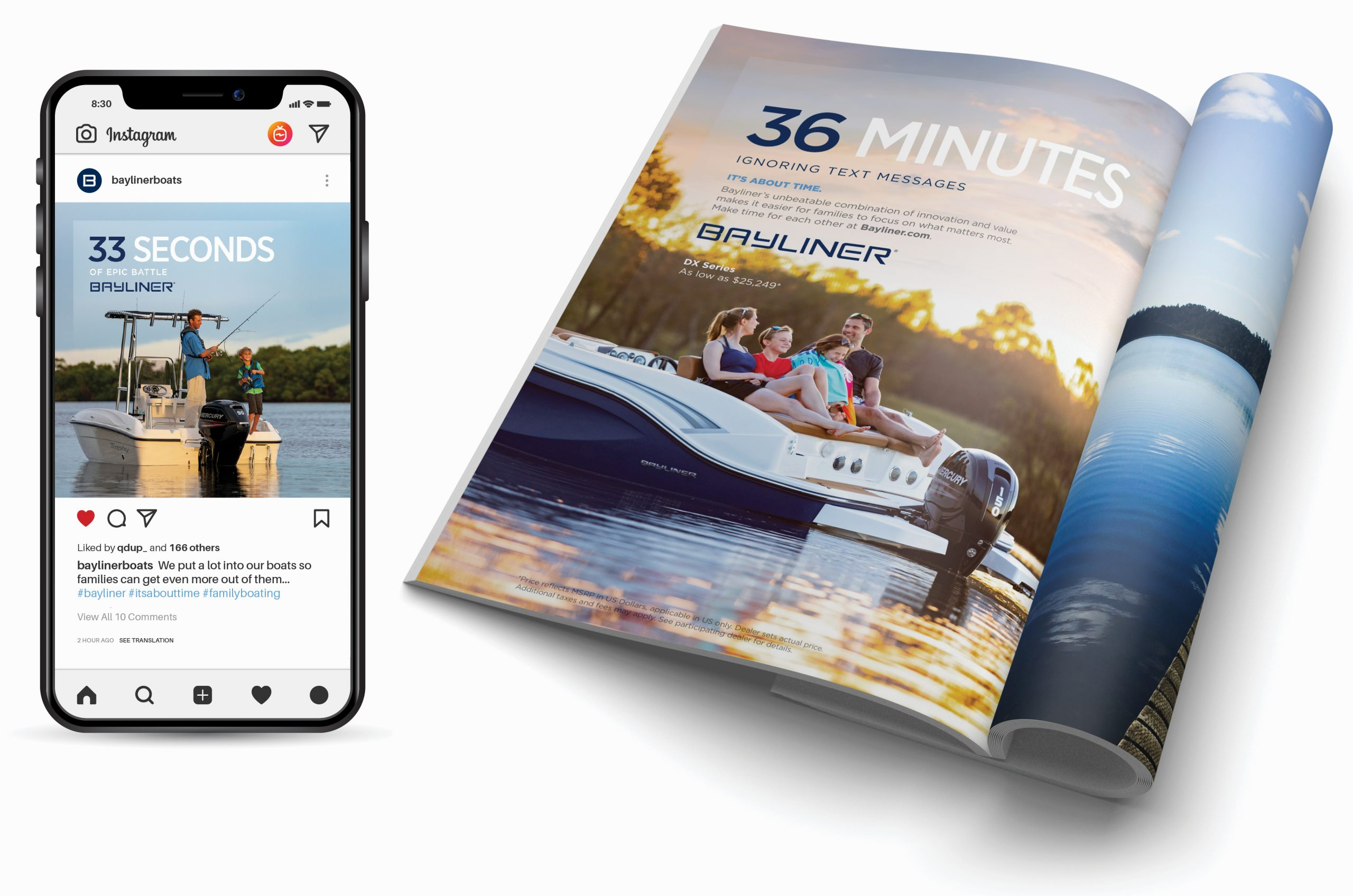 Bayliner Boats - Brand awareness campaign examples 2