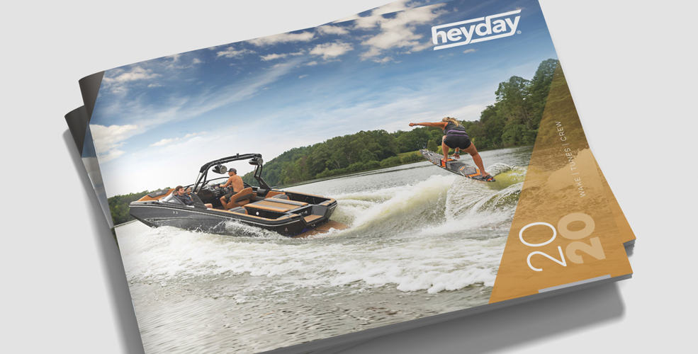 Heyday Wake Boat - Marketing Catalog Cover