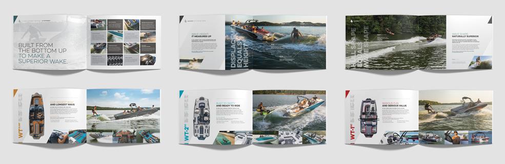 Heyday Wake Boat - Marketing Catalog Inside Spreads