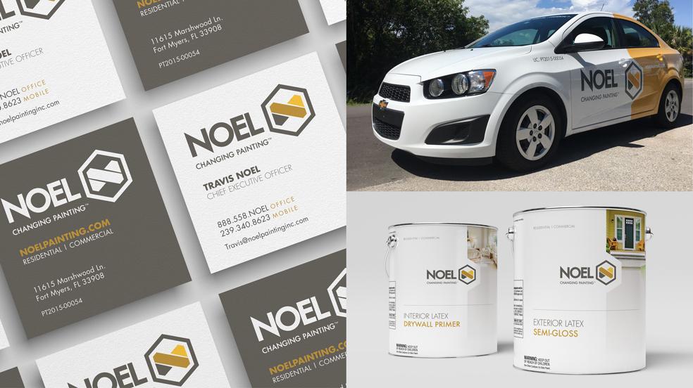 Noel Painting Rebrand Examples 1