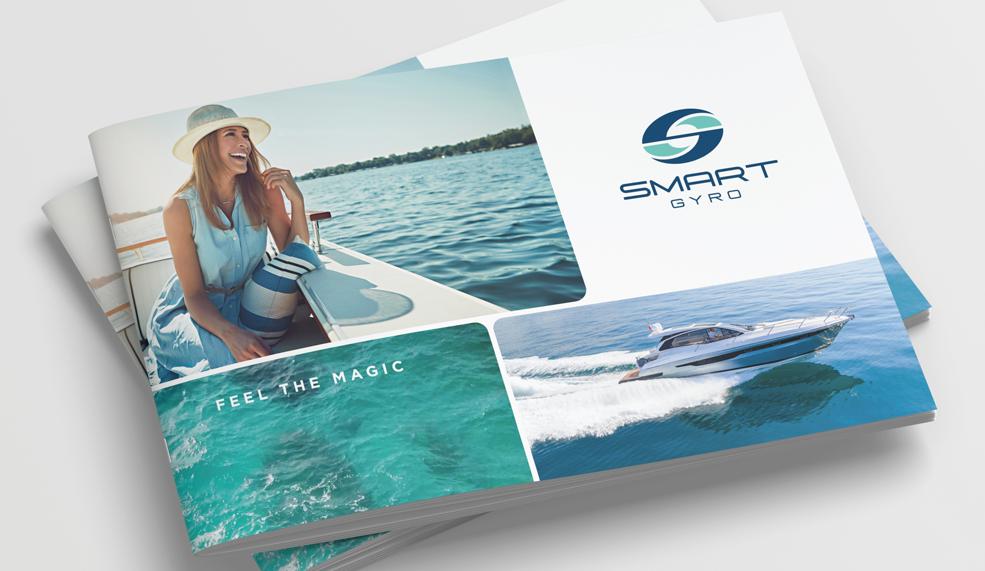 Smartgyro Brand Development Catalog Cover