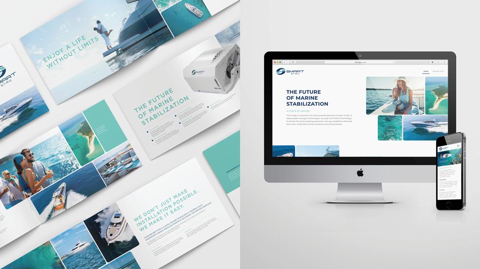 Smartgyro Brand Development Catalog and Website